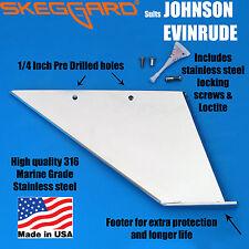 JOHNSON/EVINRUDE 60-70-90-115hp 4 STROKES Skeg Guard, Skeg Protector, USA MADE
