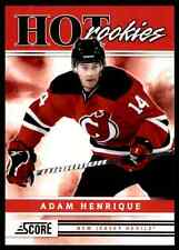 2011-12 Score Hot Rookies Adam Henrique Rookie #543