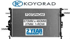 FORD MONDEO MA MB 2007-2010 2.5ltr TURBO PETROL XR5 RADIATOR *GENUINE KOYORAD*