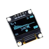 "Blue 3-5V 0.96"" SPI Serial 128X64 OLED LCD LED Display Module for Arduino"