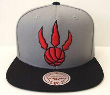 Toronto Raptors Mitchell & Ness NBA XL Logo 2Tone Snapback Hat Cap Lowry