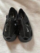 Nike Sunray Protect Sandals Size UK 7.5 Black