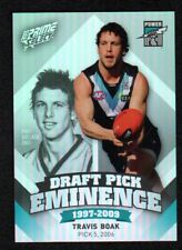 2013 AFL Select Prime Draft Pick Eminence Card DPE72 Travis Boak (Port Adelaide)