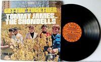 "TOMMY JAMES & THE SHONDELLS ""GETTIN' TOGETHER"" >12"" VINYL RECORD ALBUM>VG>1967"