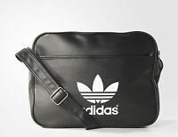 Adidas Originals Classic Airliner Shoulder Messenger Bag Black -- AB2709
