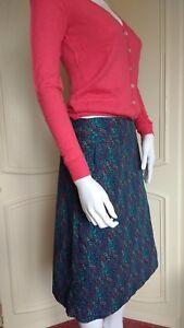 SEASALT Brushline Heather Knee Length Skirt A-Line Pockets RRP £49.95 UK 8 - 20