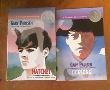 Hatchet and Dogsong by Gary Paulson