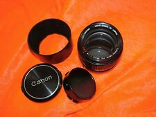 CANON FD LENS S.S.C F=85mm 1:1.8 No.40379