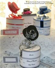 Card?Papercraft Templates CD: Hats & Hatboxes: CD420 Frandor Formats