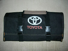 "TOYOTA Logo/2000 GT/Celica/Supra ""NEW ALL BLACK"" !!!!! TOOL ROLL"