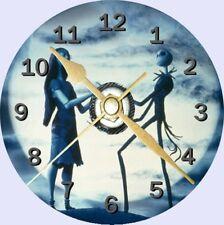 Nightmare before christmas cd horloge peut être personnalisé
