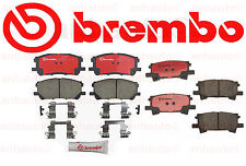 BREMBO Ceramic Brake Pad Set FRONT & REAR for Lexus  & Toyota