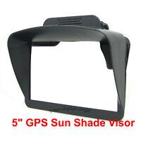 """Sun Shade Visor for 5"""" inch GPS TomTom Go 5200 520 Via 52 Start 52"""