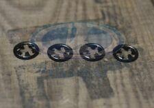 Lada 2101-2107 Laika Riva Exterior Badge Clip For Fixing Emblem Metal 4 Pcs