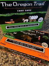 The Oregon Trail Card Game - 2 Board Game Lot
