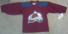 New VINTAGE Patrick Roy Youth Small Jersey Official NHL CCM Colorado Avalanche