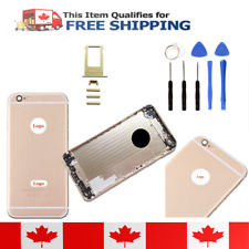 iPhone 6 Plus Gold Frame Back Housing Replacement Battery Cover Rear Bezel