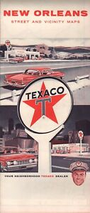 1963 Texaco Road Map: New Orleans NOS