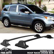 Fits 2007-2011 Honda CRV Roof Rack OE Factory Style Cross Bar Black 2Pc