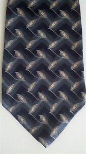 """Arrow Men's Other Neck Tie Silk Gray Charcoal Wide 4"""" x 58"""""""