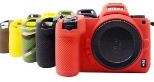 Camera Case For Nikon Z6 Z7 Soft Silicone Case Colour Rubber Protection Cover