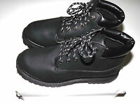Mens Black Colorado Lace-Up Military Style Work Casual Fashion Boots SizeUK 6-11