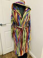 MISSONI HOME Hooded Bath Robe JEFF 156 Brand New designer dressing Gown unisex M