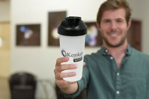 Shaker Bottle Cup Protein Smart Blender Mixer Ball 600ml Drink Water Milk Shake