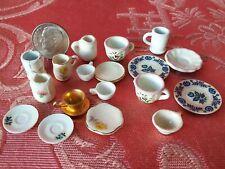 3 Pack Item #IM65060 Dollhouse Miniatures 1:12 Scale Copper Pots