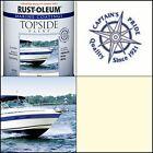 Marine Boat Wood Metal Fiberglass Topside Paint Coating Gloss Topside Oyster Whi
