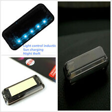 High quality Solar Vibration LED Light Car Alarm Security Flash Anti-Theft