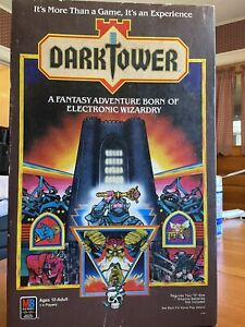 DARK TOWER Board Game - 100% COMPLETE ORIGINAL NO FAKE PARTS CLEANED RARE!!! See