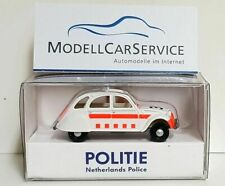 "Wiking Sondermodell 1/87 (H0): 080952 Citroen 2CV ""Politie"" (Niederlande)"