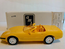 AMT ERTL 1:25 DEALER PROMOS 1995 CORVETTE CONVERTIBLE YELLOW