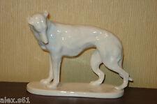 """Schwarzburger Werkstätten Porzellan Figur """"Jagdhund"""" Hund"""