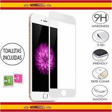 Protector Pantalla Cristal Templado para apple iPhone 6 / 6S 4.7 Blanco