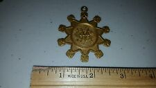 VMC ROYAL ARCANUM MASONIC 1105 BRASS MEDAL MEDALLION LOOK!!!!!!!!