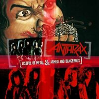 Anthrax - Fistful Of Metal / Armed And Dangerous [CD]