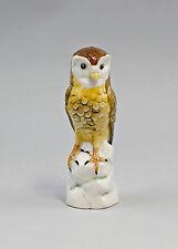 Porcelain Figurine Bird Barn Owl Ens Height 14cm 9941005