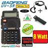 """Baofeng UV-5R 8 Watts mod. """"Wide Tx"""" NUOVO solo corpo radio con cuffiette + clip"""