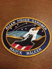 Nasa Space Shuttle Mission Patch  STS-51-A Allen Fisher Garner Hauck Walker  NEW