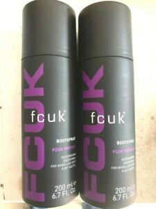 FCUK BODY SPRAY VINTAGE X2
