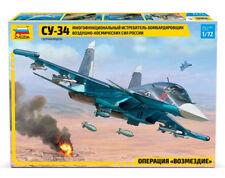 SU-34 Russian Multi-Role Destroyer DIY Military Plane Model Kit