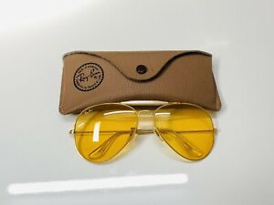 Vintage Ray-Ban Outdoorsman Ambermatic Bausch& Lomb sunglasses 62[]14 New!!!