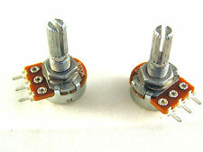 16mm Linear Potentiometer with serrated 6mm shaft in 22k or 220k 2 pieces OM814