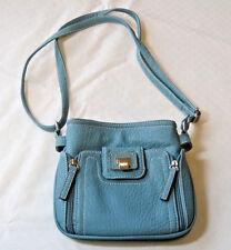 Rosetti purse womens ladies crossbody bag aqua green pre owned EUC