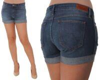 Wrangler Damen Jeans Boyfriend Short Blau (Vintage Blue) XS, S, M, L