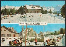 AA0924 Trento - Provincia - Val di Fassa - Rifugio Ciampedie - Vedute animate