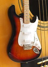 Miniature Guitar Eric Clapton Wood Sunburst Famous Guitar Free Shipping