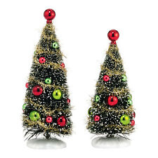 Department 56 Glitzy Holiday Trees 4038818  Tree 2014 Village Accessory D56 NEW
